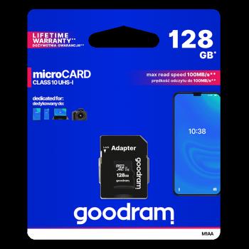 KARTA PAMIĘCI MICROSD GOODRAM 128GB