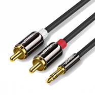 KABEL 2RCA/MINIJACK 3,5MM...