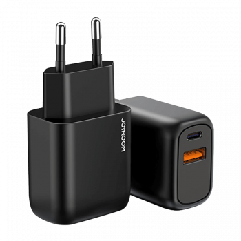 ŁADOWARKA SIECIOWA USB-C PD/USB JOYROOM CZARNA