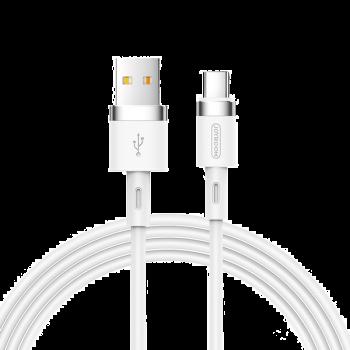 KABEL USB/USB-C SILIKONOWY JOYROOM BIAŁY