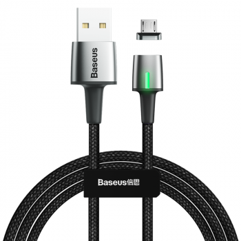 KABEL USB/MICRO USB MAGNETYCZNY BASEUS CZARNY